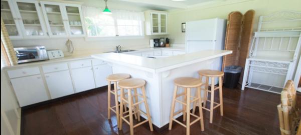 waimea cottage 3 bdrm kitchen
